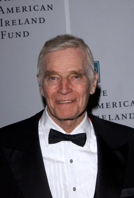 Charlton Heston at the American Ireland Fund Gala.